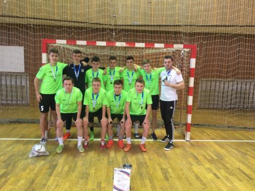 Školské majstrovstvá Slovenska vo FUTSALE – 3. miesto