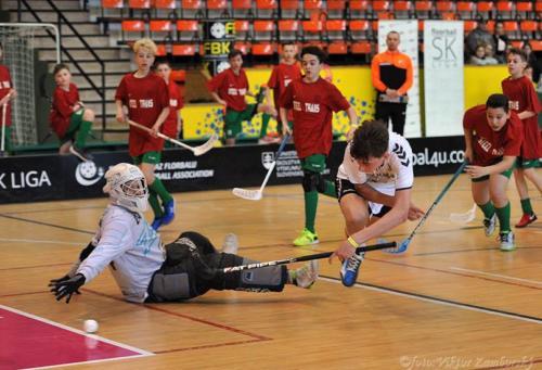 Krajské kolo Floorball SK Liga - 2.miesto